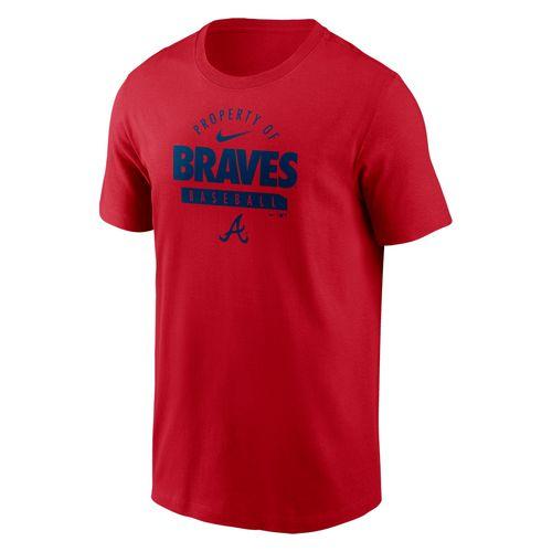 Men's Nike Atlanta Braves Property Of T-Shirt (Red)