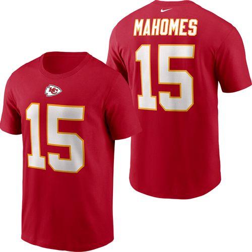 Men's Nike Kansas City Chiefs Patrick Mahomes Name and Number T-Shirt (Red)