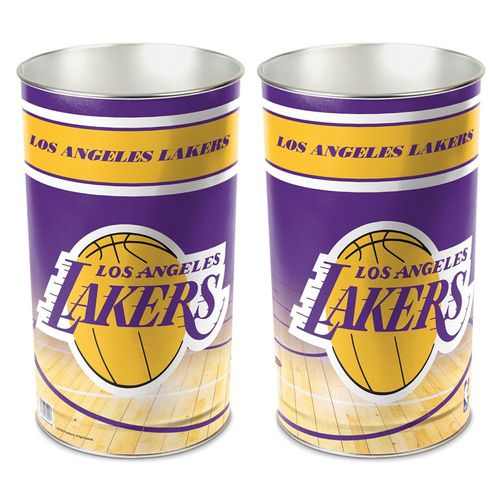 Los Angeles Lakers Tapered Trashcan