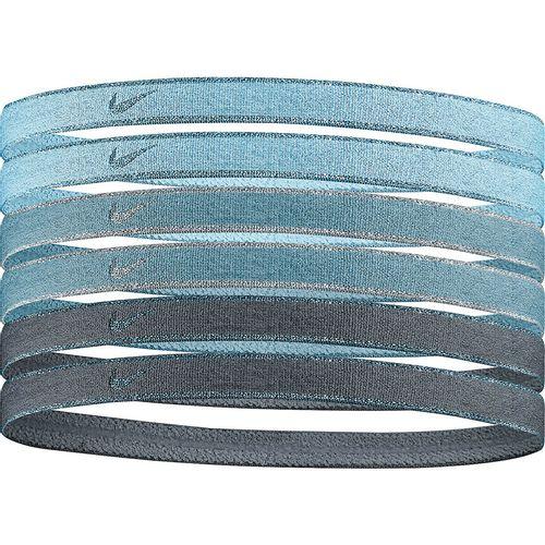 Nike Nike Six Pack Swoosh Sport Headbands (Blue/Green)