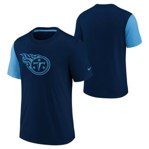 Youth Nike Tennessee Titans Fashion Statement T-Shirt (Navy/Light Blue)