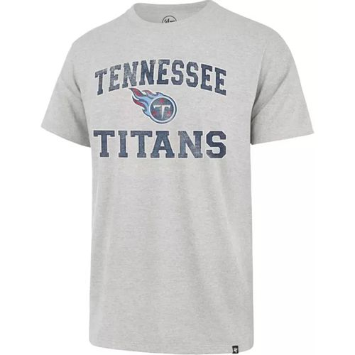 '47 Brand Men's Tennessee Titans Franklin Union Arch T-Shirt (Grey)