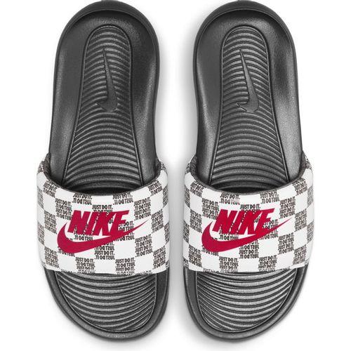Men's Nike Victori One Slide (White/Red)