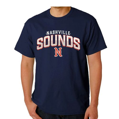Men's Nashville Sounds Handle Bar T-Shirt (Navy)