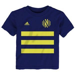 Toddler Nashville Soccer Club Pitch T-Shirt (Navy)