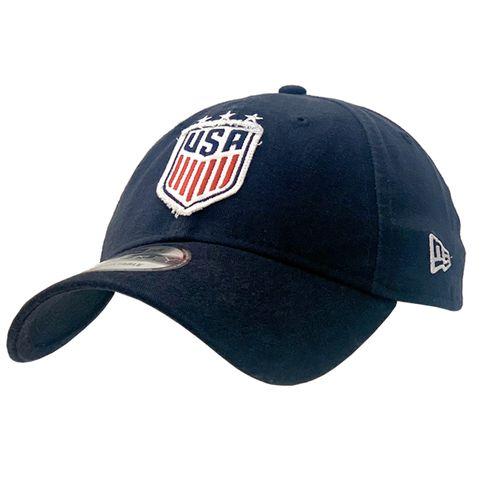 New Era USA 9TWENTY Patch Pick Adjustable Hat (Navy)