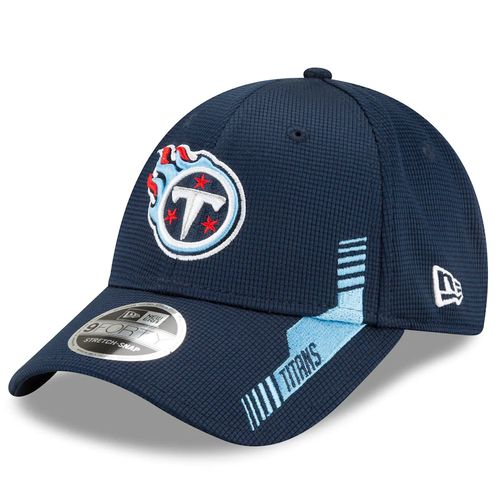 Youth New Era Tennessee Titans Home Sideline 9Forty Adjustable Hat (Navy)