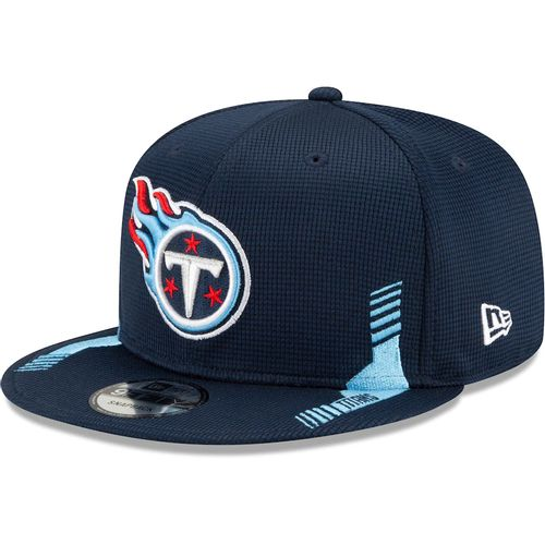 Youth New Era Tennessee Titans Home Sideline 9Fifty Adjustable Hat (Navy)