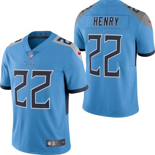 Men's Nike Tennessee Titans Derrick Henry Alternate Limited Jersey (Light Blue)