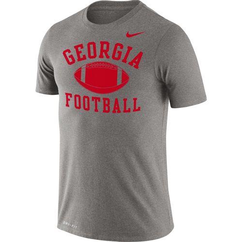 Men's Nike Georgia Bulldogs Legend Football T-Shirt (Dark Heather)