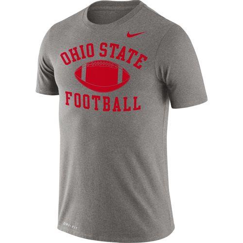 Men's Nike Ohio State Buckeyes Legend Football T-Shirt (Dark Heather)