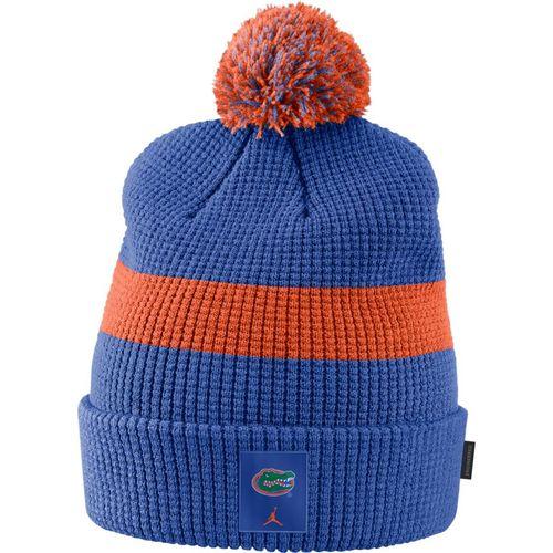 Nike Florida Gators Pom Knit Hat (Royal/Orange)