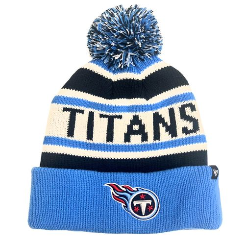 '47 Brand Youth Tennessee Titans Hangtime Cuff Knit Hat (Navy)