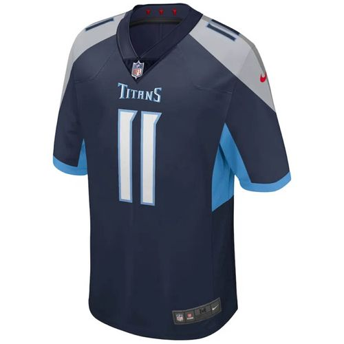 Men's Nike Tennessee Titans A.J. Brown Home Limited Game Jersey (Navy)