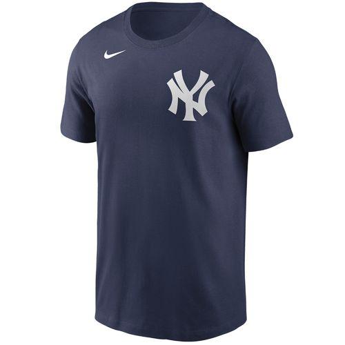 Men's Nike New York Yankees Cotton Wordmark T-Shirt (Navy)