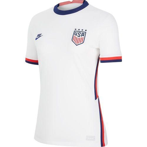 Women's Nike 2020 Team USA Home Stadium Jersey (White/Blue)