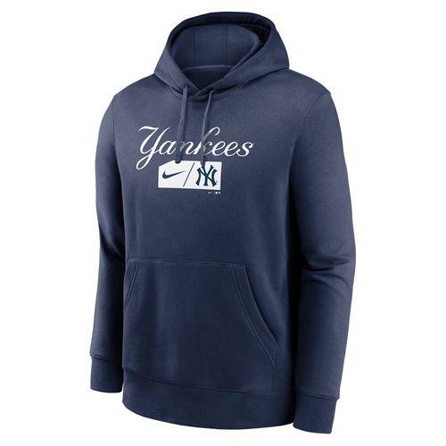 Men's Nike New York Yankees Club Hoodie (Navy)