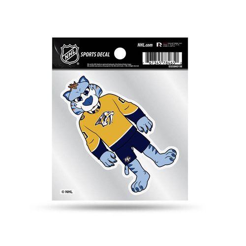 Nashville Predators Gnash Mascot Decal