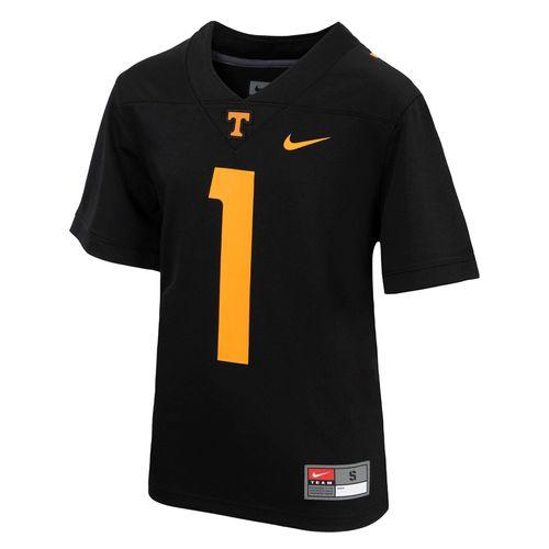 Youth Nike Tennessee Volunteers #1 Alternate Replica Game Jersey (Black)
