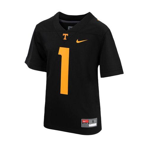 Kid's Nike Tennessee Volunteers #1 Alternate Game Jersey (Black)