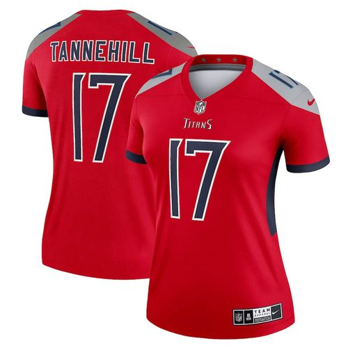 Women's Nike Tennessee Titans Ryan Tannehill Legend Jersey (Red)