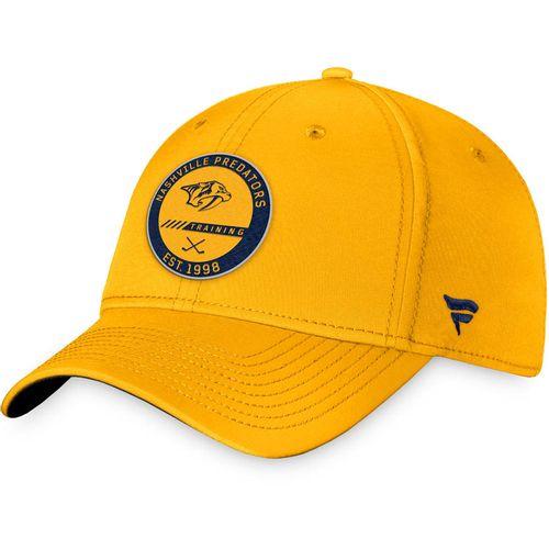 Fanatics Nashville Predators Authentic Pro Training Camp Adjustable Hat (Gold)