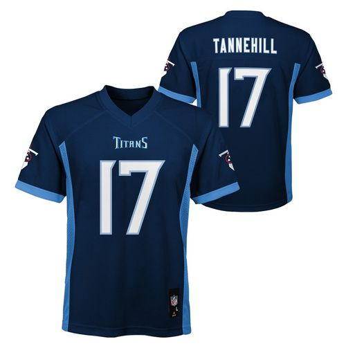 Youth Tennessee Titans Ryan Tannehill Mid-Tier Jersey (Navy)