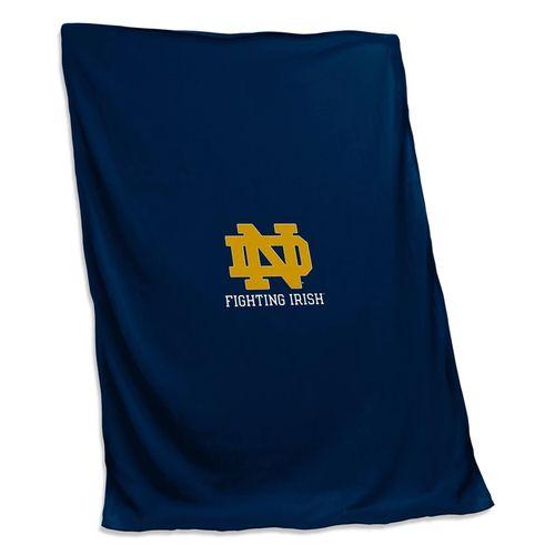 Notre Dame Fighting Irish Sweatshirt Blanket
